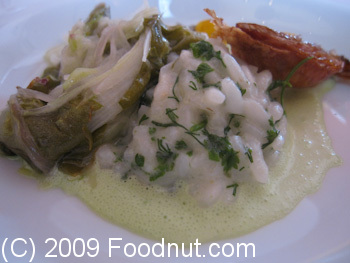 L Arpege Paris France Risotto