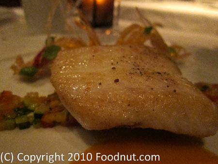 La Folie San Francisco Alaskan halibut