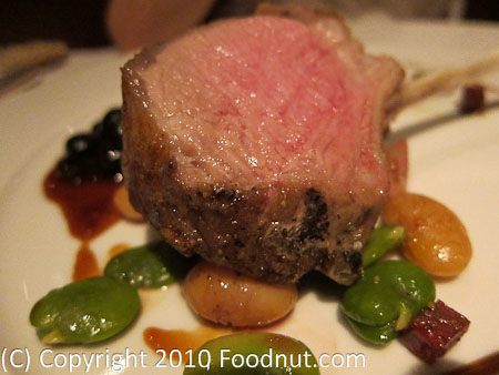 La Folie San Francisco Lamb rack