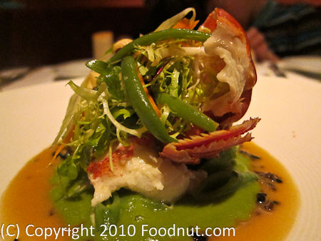La Folie San Francisco butter poached lobster