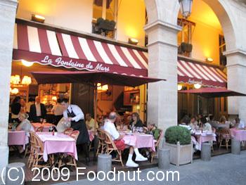 La Fontaine De Mars Restaurant Review Paris France