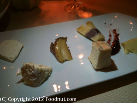 La Pergola Rome Cheese Course