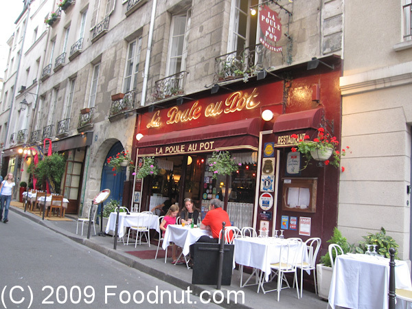 La poule au pot restaurant review paris france