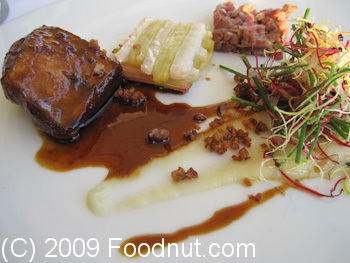La Reserve Nice France Filet de cannette duck filet
