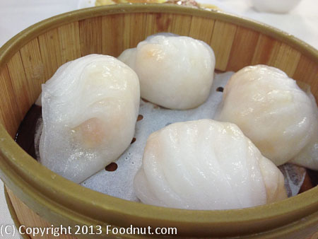Lai Hong Lounge steamed shrimp dumplings