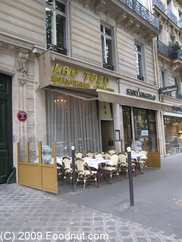 Lao tseu restaurant review paris france