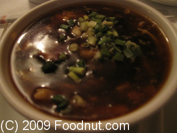 Lao Tseu Paris France Potage Hot and sour Soup