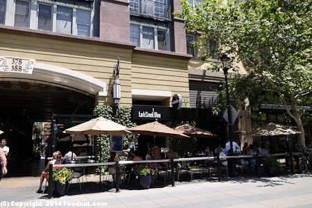 Lark Creek Blue Santana Row exterior decor