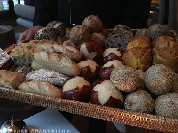 Le Bernardin New York bread selection