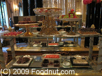 Le Cinq Paris France Dessert Cart