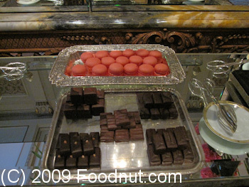 Le Cinq Paris France Desserts Chocolates Macaroons