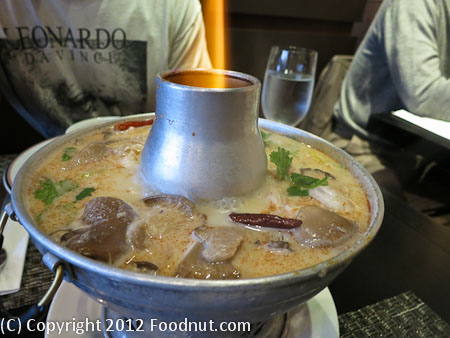 Lers Ros San Francisco Tom kha gai soup