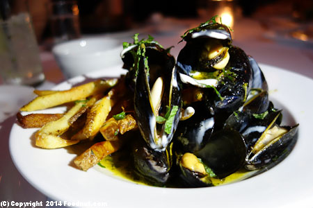Little Bird Portland mussels moules frites