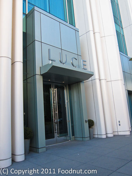 Luce Wine Restaurant San Francisco