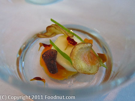 Luce San Francisco_scallop_mousse