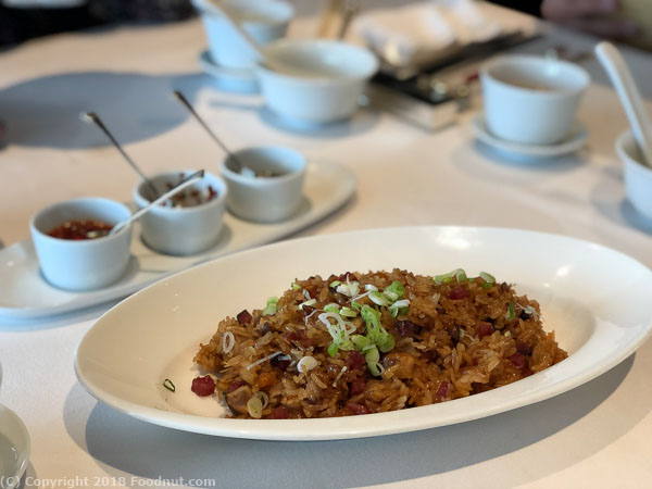 Lung King Heen Hong Kong Fried Glutinous Rice