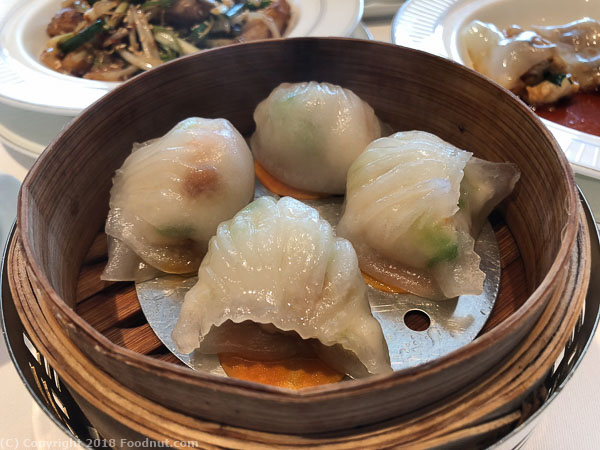 Lung King Heen Hong Kong Shirmp Dumplings har gow