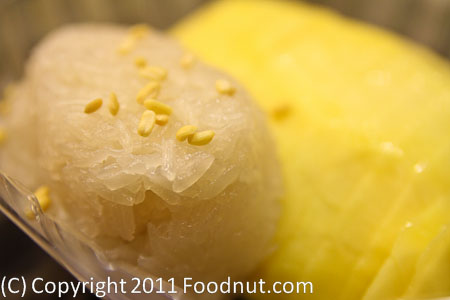 Marnee Thai San Francisco Mango with Sticky Rice