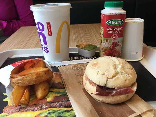 McDonalds Barcelona 2017 Breakfast
