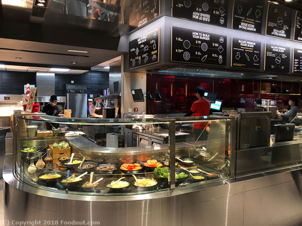 McDonalds Next Hong Kong Salad bar