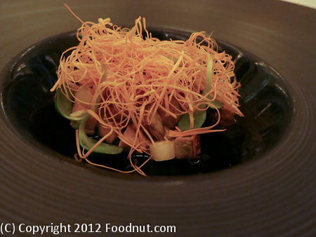 Restaurant at Meadowood St Helena abalone