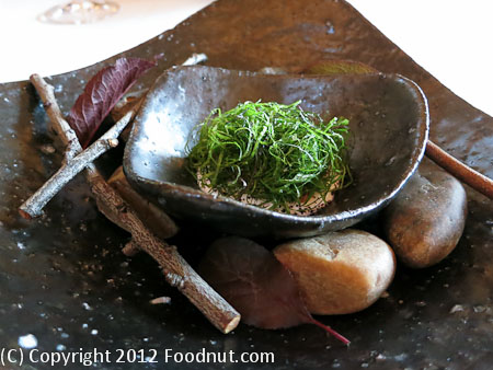 Restaurant at Meadowood St Helena house made yogurt