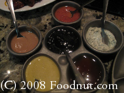 Melting Pot San Mateo Dipping Sauces