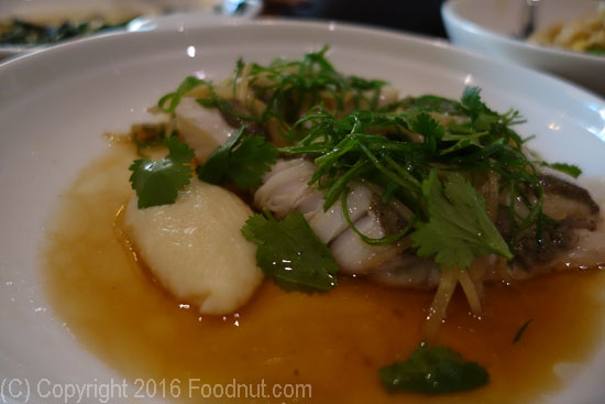 Mister Jius San Francisco Steamed black cod
