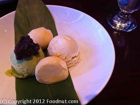 Mitsunobu Menlo Park Ice Cream Sampler