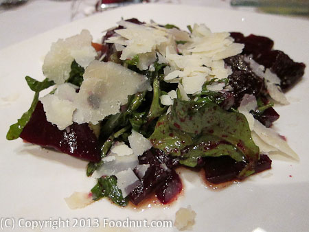 Moodys Bistro and Lounge Truckee Beet Salad
