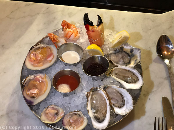 Neptune Oyster Boston Raw oysters clams crab