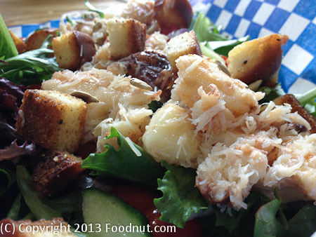 New England Lobster Market Eatery maine lobster platter crab salad