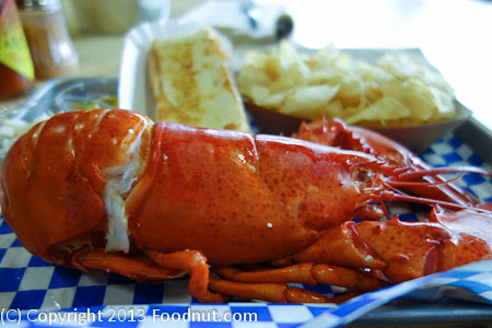 New England Lobster Market Eatery maine lobster platter