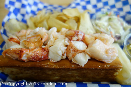 New England Lobster Market Eatery naked lobster roll