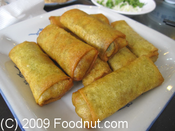Old Beijing Restaurant Beijing China Deep Fried Spring Rolls