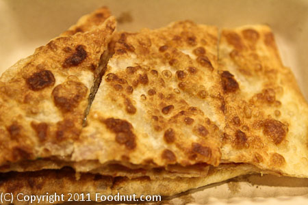 Old Mandarin Islamic Restaurant San Francisco peking beef pancake