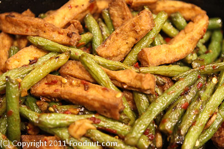 Old Mandarin Islamic Restaurant San Francisco sauteed string beans