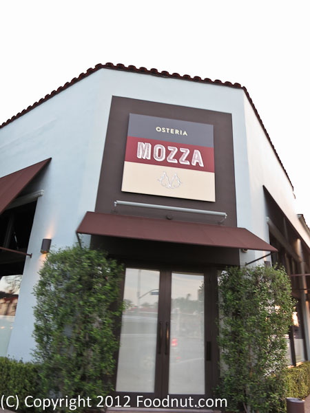 Osteria Mozza LA Exterior decor