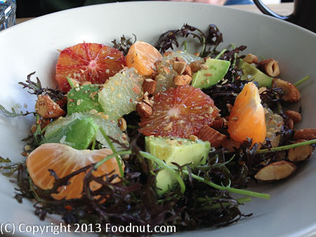 Outerlands San Francisco citrus salad