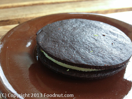 Outerlands San Francisco oreo cookie