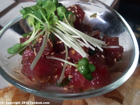 Pacific Catch San Mateo Poke Appetizer