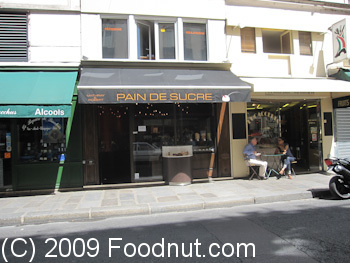 Pain de sucre Paris France Patisserie Exterior Decor
