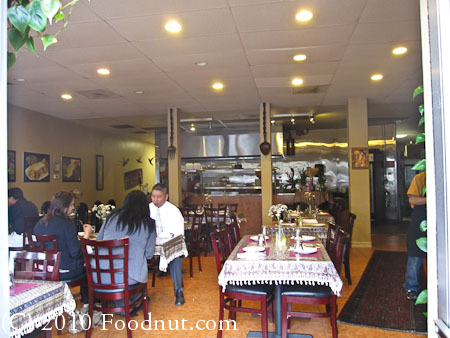 Paradise Kabab House Redwood City interior decor