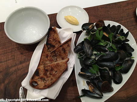 Petit Crenn San Francisco Mussels Moules Mariniere