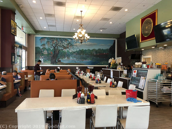 Pho hanoi San Jose interior decor