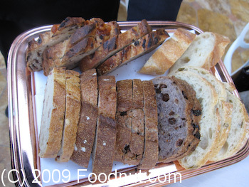Picasso Las Vegas Bread assortment