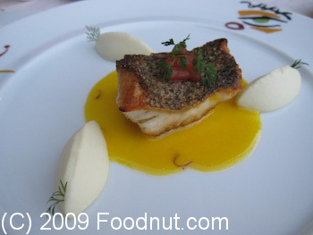 Picasso Las Vegas Sea Bass