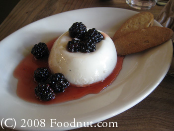 Pizetta 211 San Francisco Panna Cotta
