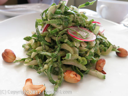 Press St Helena spring salad