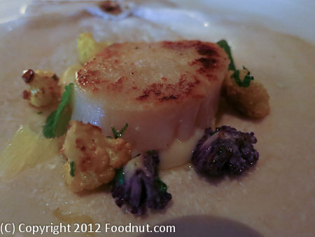 Quince San Francisco Diver Sea Scallop Gratinata